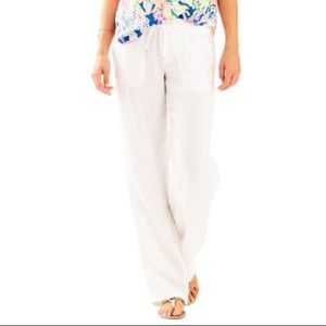 LILLY PULITZER | Galley Linen Pants